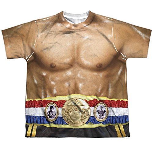 Drago Costumes (Youth: Rocky- Costume Tee Kids T-Shirt Size YS)