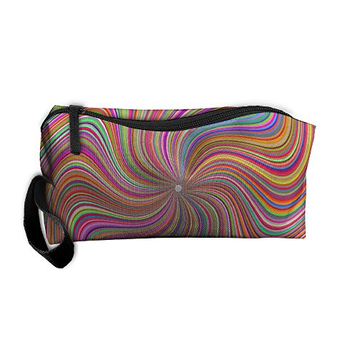 Hyper Nova Abstract Geometry Portable Pouch Cosmetic Medicine Bag