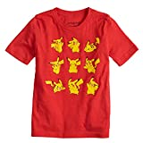 Jumping Beans Boys 4-10 Pokemon Pikachu Poses Graphic Tee 4 Red Heather