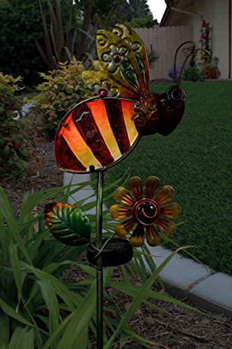 Regal Art and Gift 10544 Solar Stake, Bee