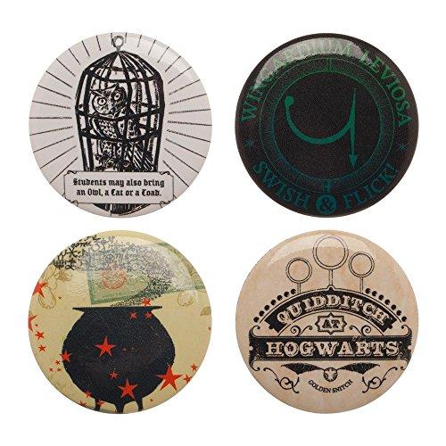 Harry Potter Lapel Enamel Metal Mini Pin Badge Set (Harry Potter (Mystery Pin Set)