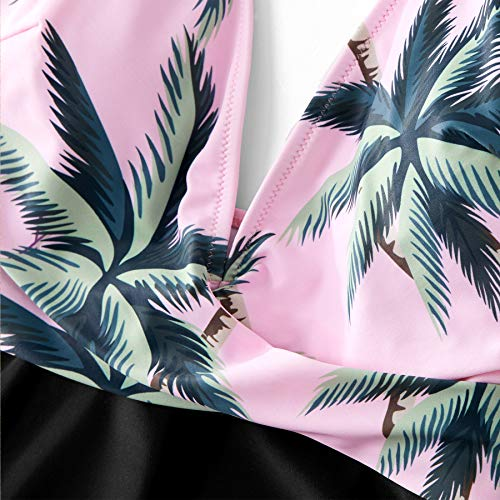 20730eb0db Yaffi Family Matching Swimwear One Piece Mommy and Me Swimsuits 2019 Newest Bathing  Suits Coconut Tree