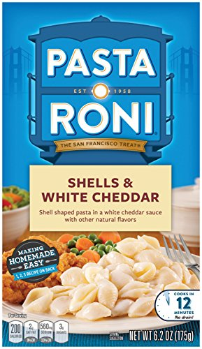 Pasta Roni Shells & White Cheddar Mix (Pack of 12 Boxes) 6.2 ()