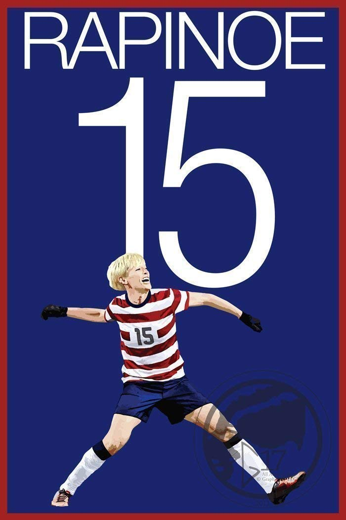Megan Rapinoe United States Women's National Team Poster