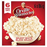 Orville Redenbacher Popcorn - Microwave Select White (6 x Pack of 6 - 36 bags total)
