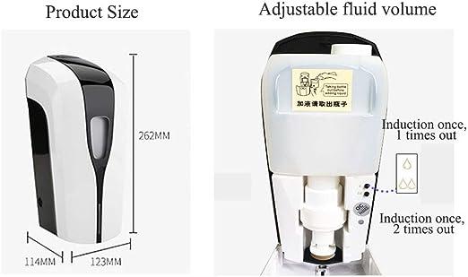 WANGCY Automatischer Seifenspender mit Sensor Wandmontage Seifenspender Wand Schaumseifenspender Infrared Sensor Seifenspender f/ür K/üchen und Badezimmer