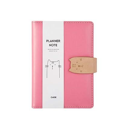 YWHY Cuaderno Lindo Diario De Gatos Para Niñas Cuaderno Y ...
