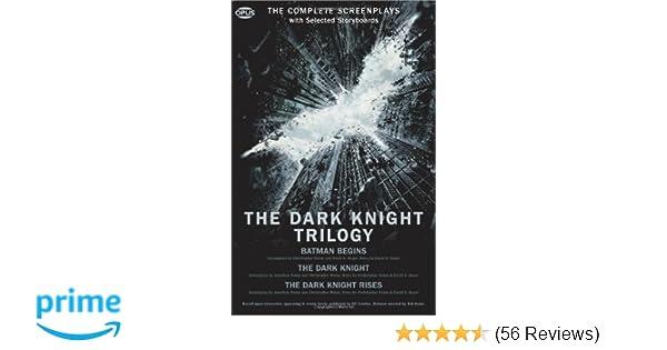 The Dark Knight Trilogy The Complete Screenplays Book NEW Batman