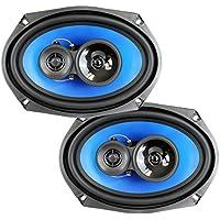 2) Q Power 6x9 700 Watt 3-Way Car Audio Stereo Coaxial Speakers Pair   QP693