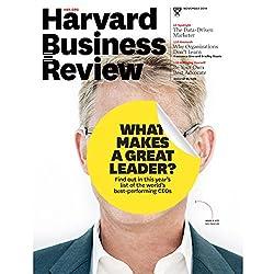 Harvard Business Review, November 2015