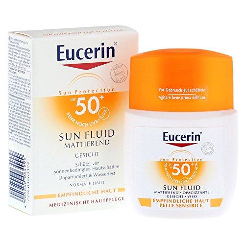 Eucerin Sun Fluid Mattierend LSF 50+, 50 ml