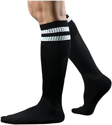 Unisex Kids Sport Football Stockings Over Knee Stripe Sock Baseball Hockey Socks
