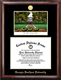 Campus Images ''Georgia Southern Embossed Diploma'' Frame with Lithograph Print, 12'' x 15'', Gold