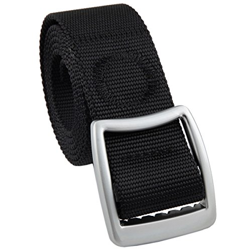 squaregarden Mens Nylon Tactical Duty Belt Webbing Military Style Belts for Men