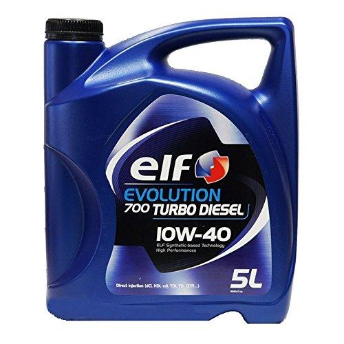 Elf Garrafa Aceite para coche Turbo Diésel 10W40 5 litros: Amazon.es: Coche y moto
