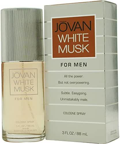 JOVAN WHITE MUSK by Jovan COLOGNE SPRAY 3 OZ for MEN ---(Package Of 2)