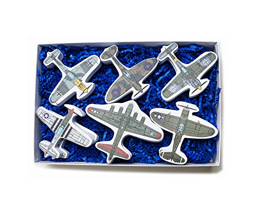 Airplane Sticky Notes World War 2 (World War 2 Airplane Model Page Flags Sticky Note Collection 12 Airplanes) ()