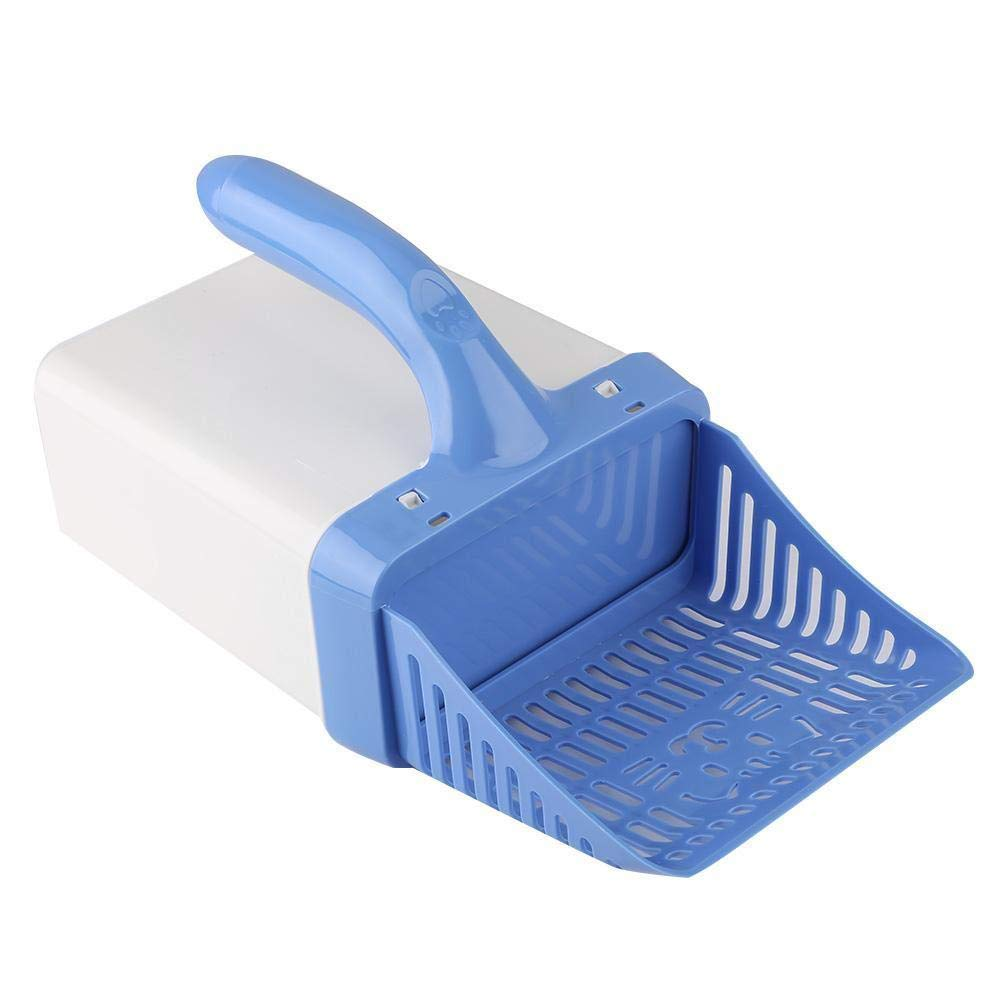 LJVOVN Cat Litter Shovel pet Sand Sieve Hollow Comb Shovel Dog Sand Cleaning cat Litter pet in Sand can be Applied to cat Dog Toilet by LJVOVN