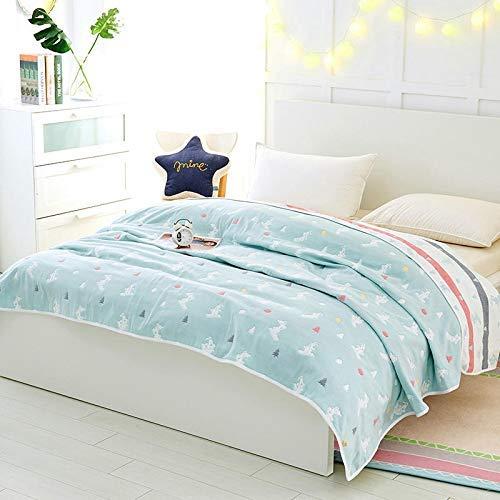 Yunyilian タオルは綿シングルダブルガーゼタオル毛布綿学生夏の赤ちゃん昼寝毛布エアコンだったです (サイズ : 150X200cm) B07QLFN7SX  150X200cm