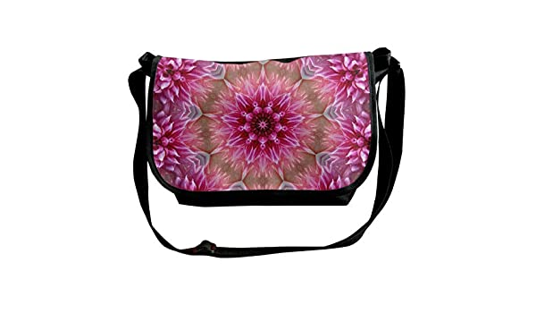 Taslilye Vintage Pattern Vector Image Customized Wide Crossbody Shoulder Bag For Men And Women For Daily Work Or Travel