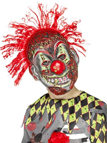 Smiffy's Twisted Clown Mask Child's, Multicolor, One Size