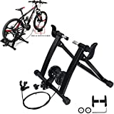 T-Former Steel Bicycle Exercise Magnetic Stand Bike Trainer Stand with Noise Reduction Wheel