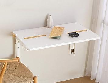 TXX Mesas plegables simples Mesa de comedor de madera maciza ...