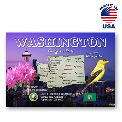 washington-map-postcard-set-of-20-identical-postcards-wa-state-map-post-cards-made-in-usa