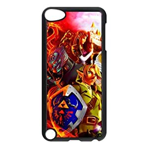 Stylish The Legend of Zelda Design IPod case,Customized Cover Case for iPod Touch 5/5th Generation,The Legend of Zelda Wallet Case for iPod Touch 5/5th Generation