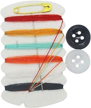 Set Home Travel Thread Threader Nadelbandmaß Scheren-Nähset 58Pcs