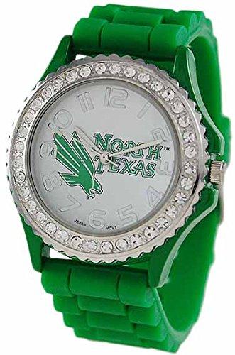 - UNT Eagles Ladies Silicone Rubber Watch 2601UNT