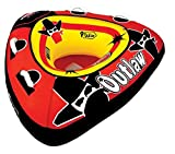 Airhead SPORTSSTUFF 53-1126 Outlaw 48-Inch Single Rider Towable + 60' Tow Rope