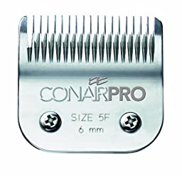 Conair Pro Pet Clipper Size 5F Ceramic Replacement Blade, 6mm