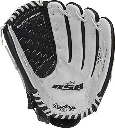Rawlings Softball Series Glove, Basket Web, 14 inch, Right Hand Throw