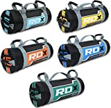 RDX Sandbag Weight Training Power Bag with Handles & Zipper | Weight Adjustable Fitness Powerbag, Weight Lifting, Running, Exercise, Powerlifting and Functional Workout