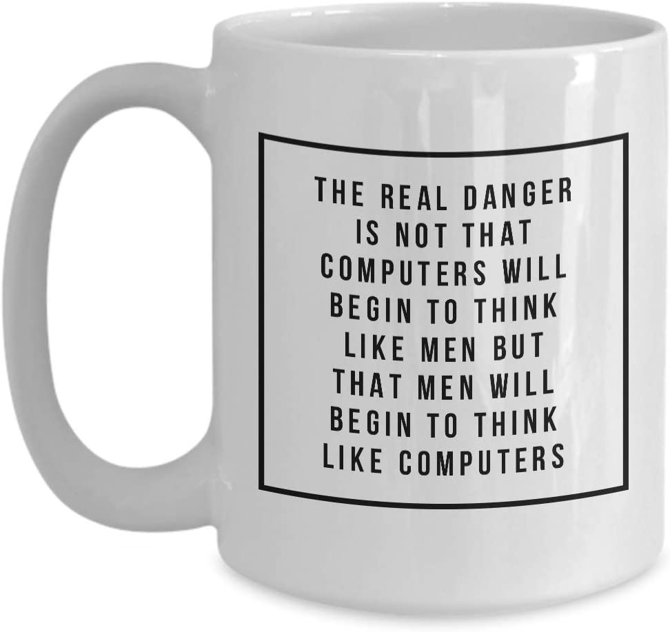 Amazon Com Geek Mug It Computer Nerd Work Coffee Cup Funny 15 Oz Gift Idea Men Woman Husband Brother Boyfriend Girlfriend Coworker Colleague Birthday Kitchen Dining