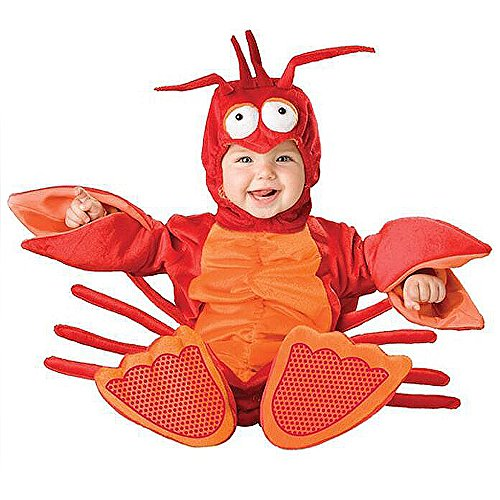 XXOO Toddler Baby Infant Lobster Christmas Dress up Outfit Costume]()