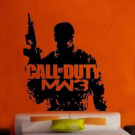 Call Of Duty Modern Warfare 3 Decal Vinyl Wall Sticker Ga82 Amazon Co Uk Kitchen Home