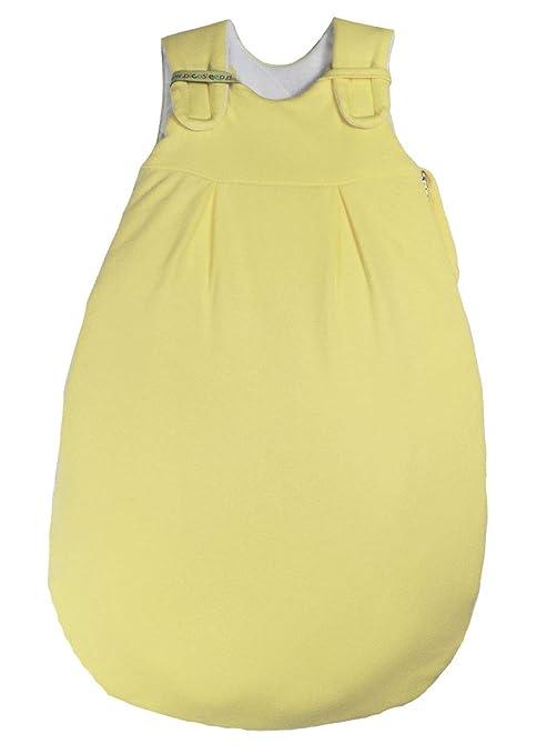 Picos Aerosleep – Saco de dormir para bebé amarillo I ganzjährig I para bebés prematuros I