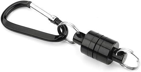 Details about  /Flying Fish Solid Magnetic Buckle Landing Net Release Holder Carabiner Tackle B