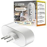 Tomada Inteligente Smart Plug Wi-Fi RSmart 10A Ligue ou Desligue seus Eletrodomésticos Através do Celular Compatível com Alex