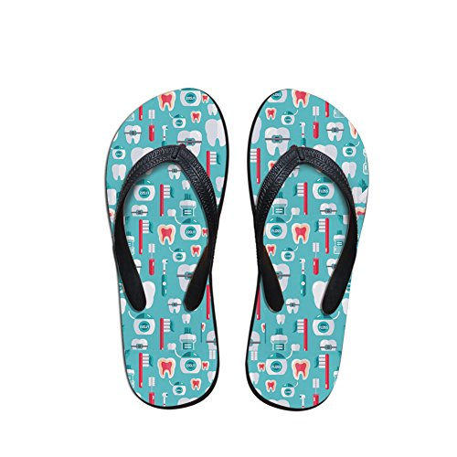 Adult Nopersonality Dentist Flops Personalized Unisex Slipper Pattern Flip Casual Slim Print rqAXxfRq