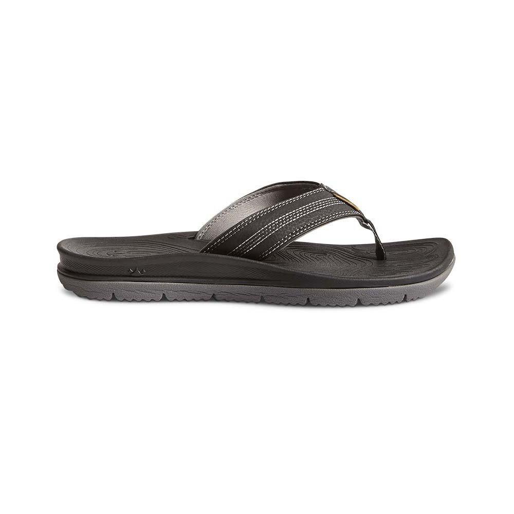 Freewaters Men's Tall Boy Sandals Black 9 & Travel Sunscreen Bundle