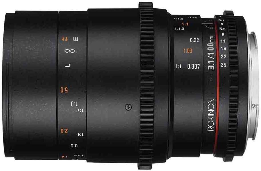 Rokinon Cine Ds 100 Mm T3 1 Macro Cine Objektiv Kamera