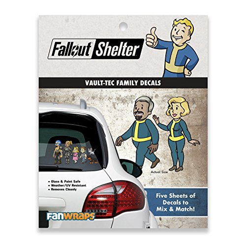 Fallout Vault-Tec Family Decals -
