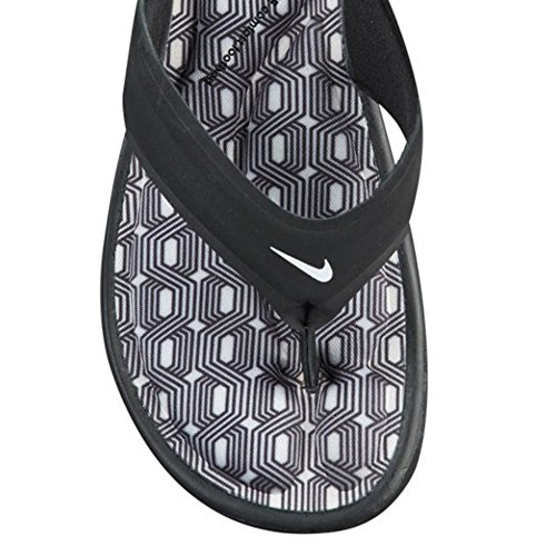 Comfort Synthetic Nike White Thong Ultra Womens Sandals Black black 004 npgCCaF