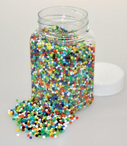CRAZY CAJUN. Playbox 2mm Basic Glass Beads in - Beads Glass Basic