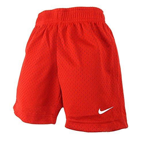 Nike Toddler Boys Athletic Mesh Shorts (3T, University Red)