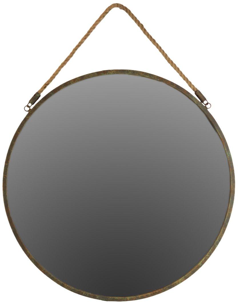"Urban Trends 35084 Decorative Wall Mirror - Wall Mirror Product Size: 22""x22""x1.1""H Item: UTC35084 - bathroom-mirrors, bathroom-accessories, bathroom - 51iZM2OjGNL -"