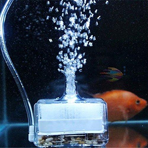 New 2016 Air Driven Sponge Fish Tank Aquarium Pump Oxygen Activated - Short Shopping Pump Mall